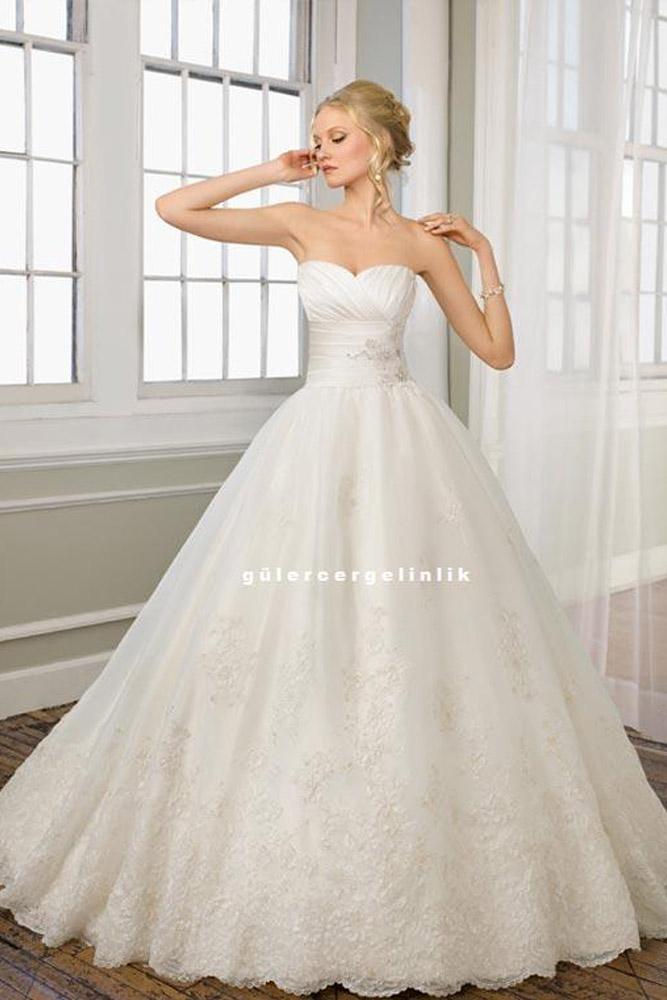 Prenses Gelinlik Modelleri 0230